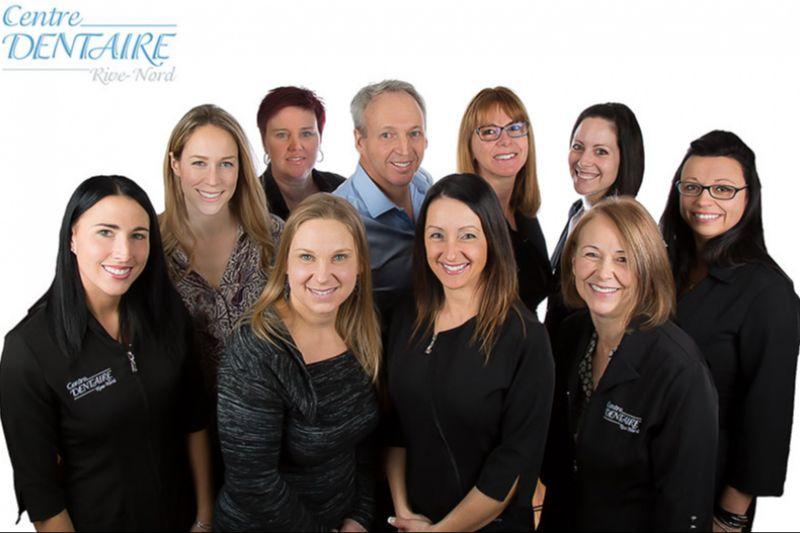 L'équipe du Centre Dentaire Rive-Nord de Repentigny